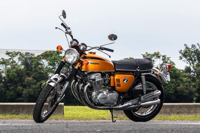 """画像: ロットナンバー1:1970 HONDA DREAM CB750FOUR / K0 予想落札価格 ¥1,500,000 - ¥2,000,000 いわゆる""""金型""""のK0ですね! 走行距離は19,010kmとのことです。 bhauction.com"""