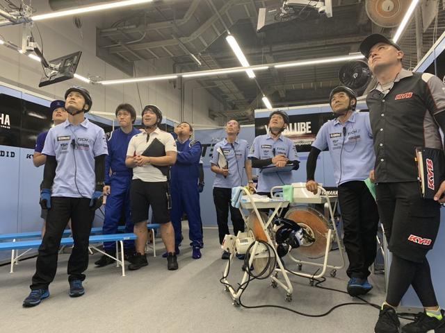 画像1: ヤマハ発動機レース情報 on Twitter twitter.com