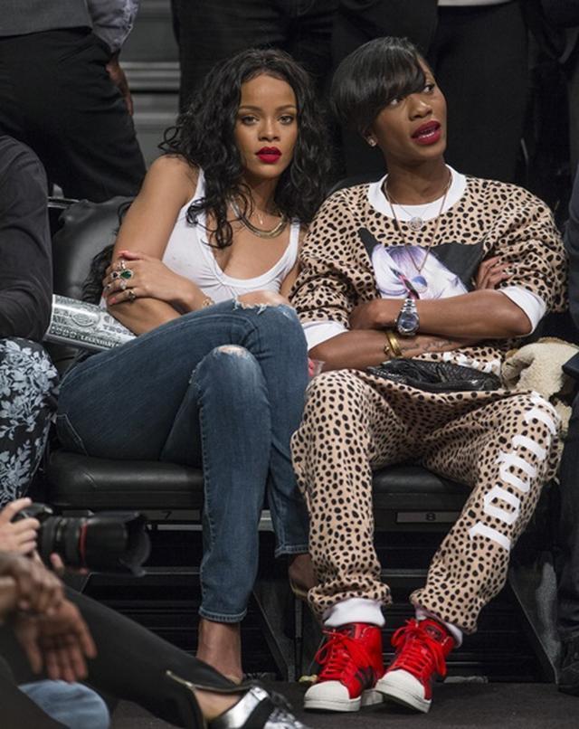 画像4: NBA観戦ファンの女性セレブたち
