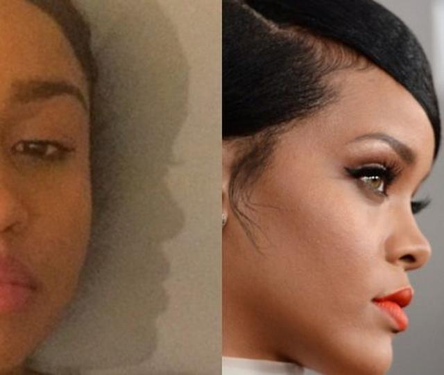 画像: 「リアーナ似の影」がツイッターで話題沸騰
