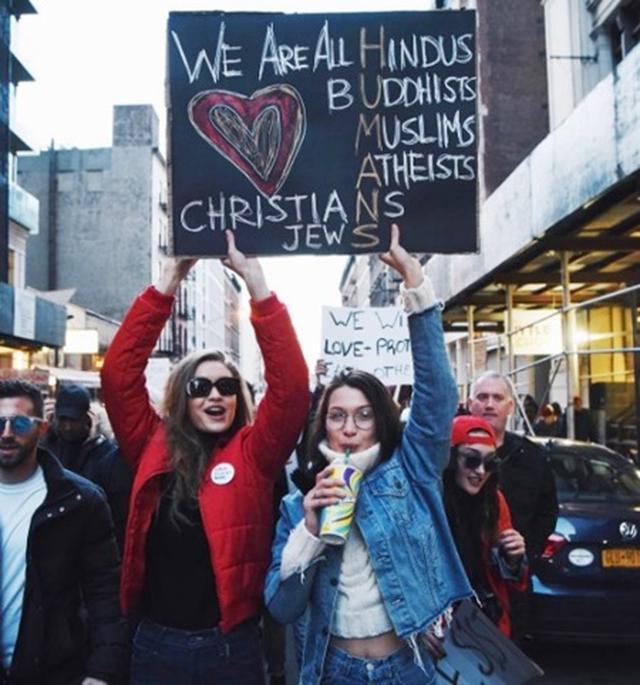 画像: 人気モデルのベラ・ハディッド、「イスラム教徒であることを誇りに思う」