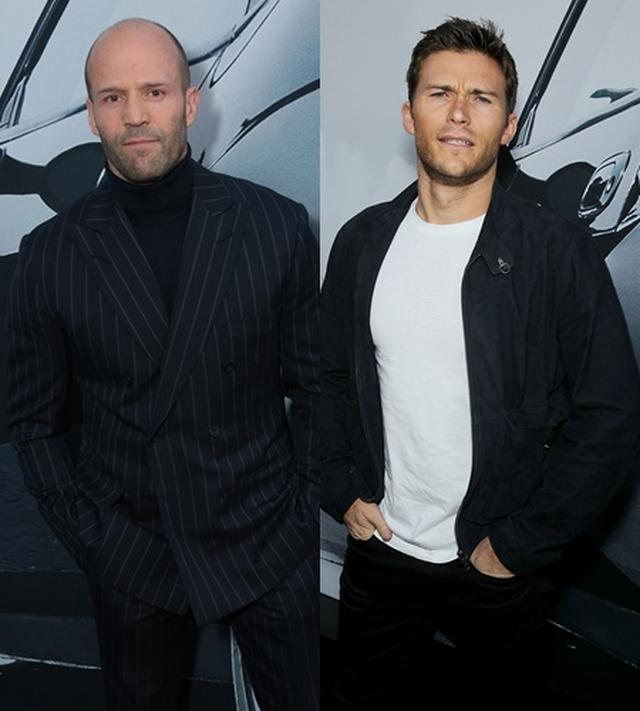 画像: 左:ジェイソン・ステイサム 右:スコット・イーストウッド