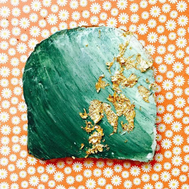 画像3: お花見に大活躍!「こう見えてヘルシー」なマーメイドトーストがブレイク中