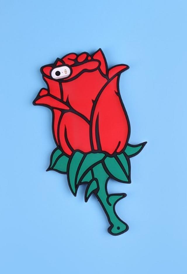画像1: 即買い決定!映画『美女と野獣』のバラにそっくりなスマホケースが可愛すぎる