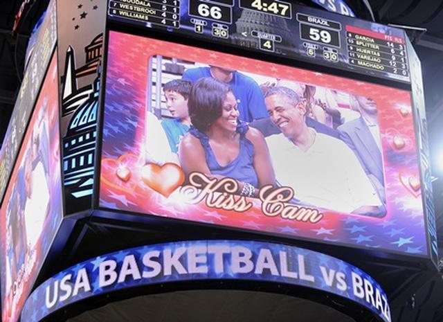 画像: NBA観戦は定番デートスポット