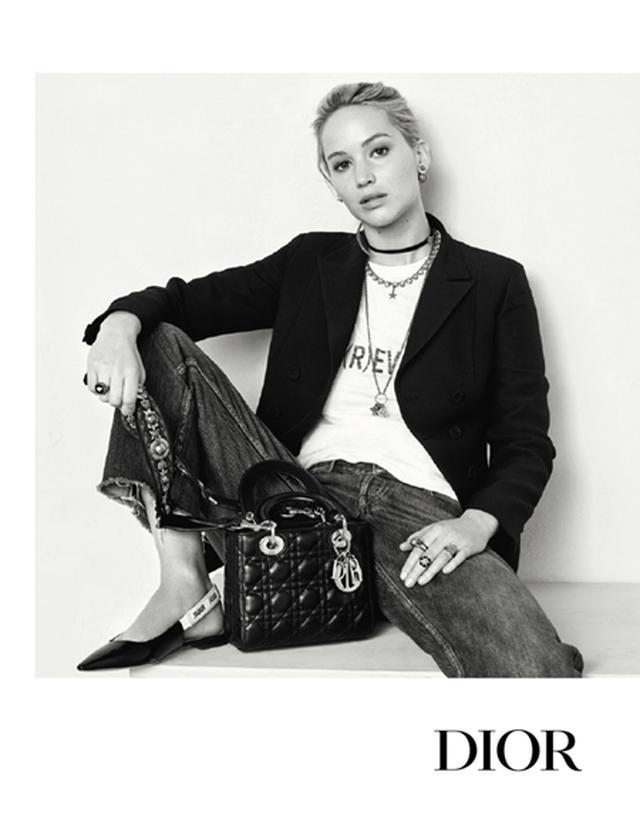 画像3: ジェニファー・ローレンスありのままの姿をクリスチャン・ディオールの新広告で披露