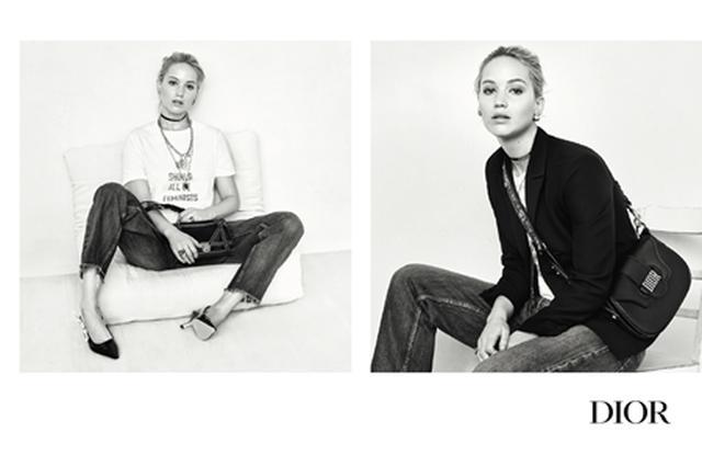画像2: ジェニファー・ローレンスありのままの姿をクリスチャン・ディオールの新広告で披露