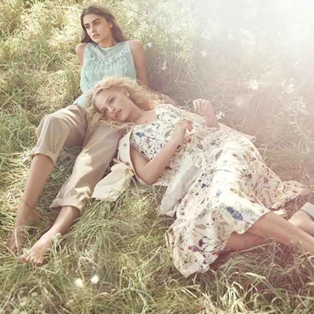 画像2: フェミニズムを反映したH&Mのスプリングコレクションの広告にテイラー・ヒル