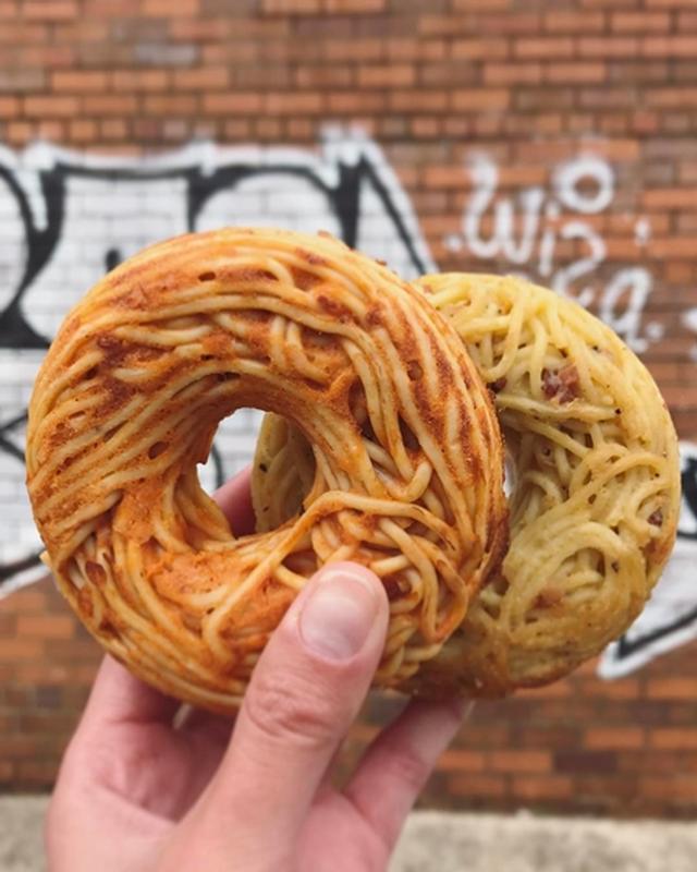 画像1: スパゲッティ・ドーナツって?