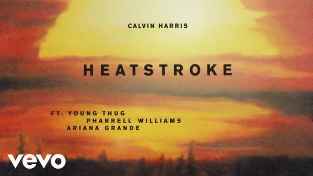 画像: Calvin Harris - Heatstroke (preview) ft. Young Thug, Pharrell Williams, Ariana Grande youtu.be
