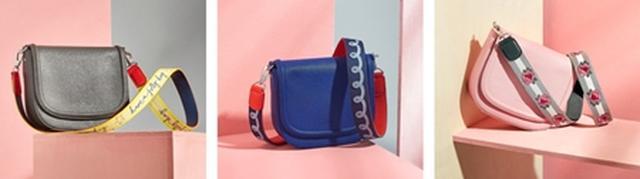 画像1: ストラップにぴったりなバッグも発売