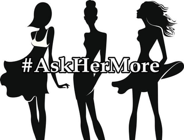 画像1: #AskHerMore