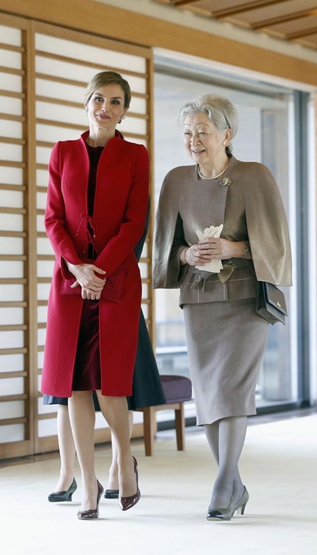 画像: 日本の皇族たちと面会