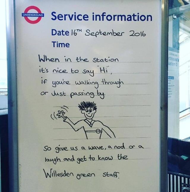 画像7: ロンドン地下鉄の駅の名言集