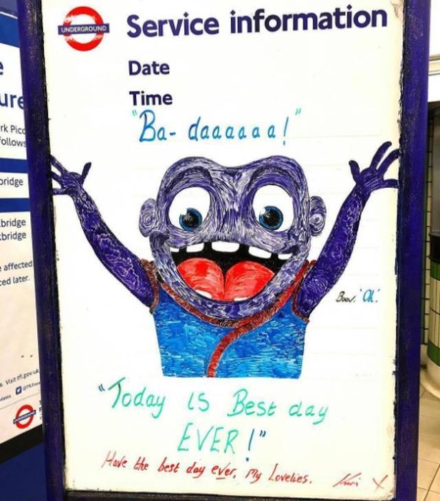 画像8: ロンドン地下鉄の駅の名言集