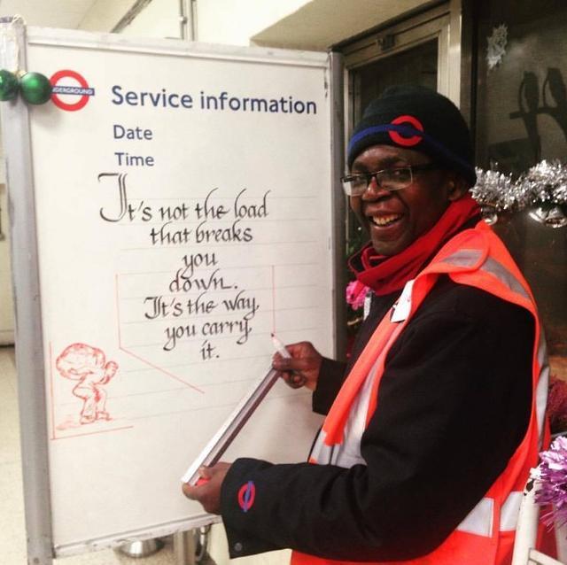 画像10: ロンドン地下鉄の駅の名言集