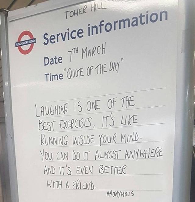 画像4: ロンドン地下鉄の駅の名言集