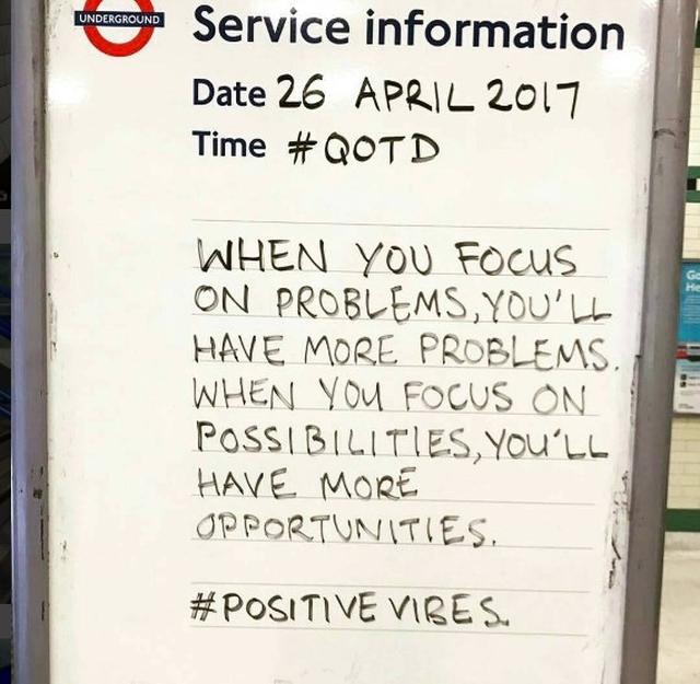 画像2: ロンドン地下鉄の駅の名言集