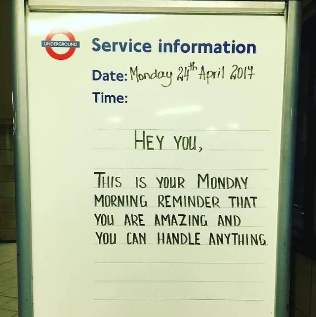 画像3: ロンドン地下鉄の駅の名言集