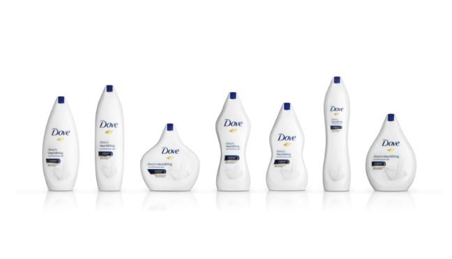 画像: 「女性の体型」がモチーフである7種類のボトル