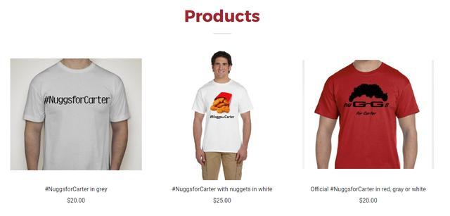 画像: Tシャツの売り上げを寄付