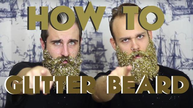 画像: How To GLITTER BEARD | The Gay Beards www.youtube.com