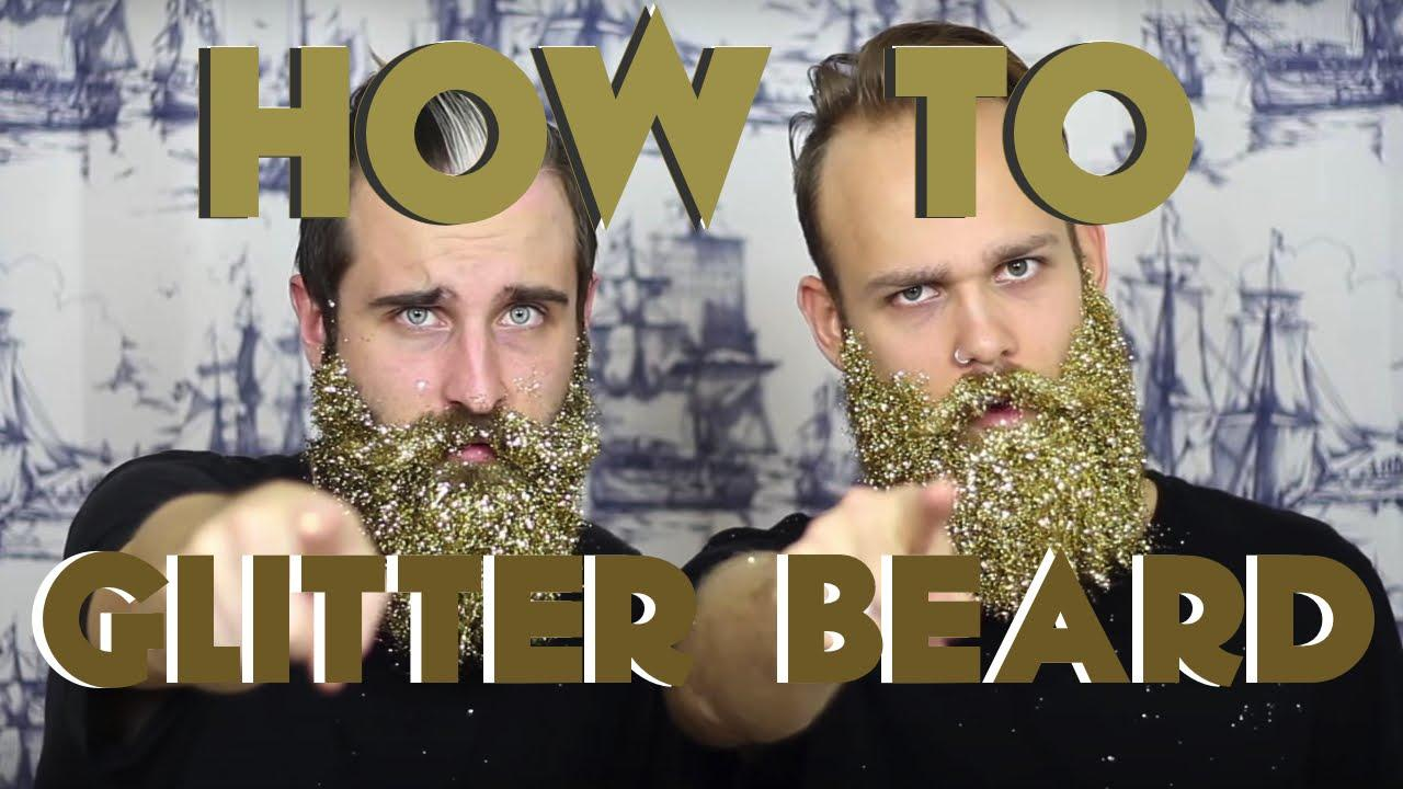 画像: How To GLITTER BEARD | The Gay Beards www.youtube.com