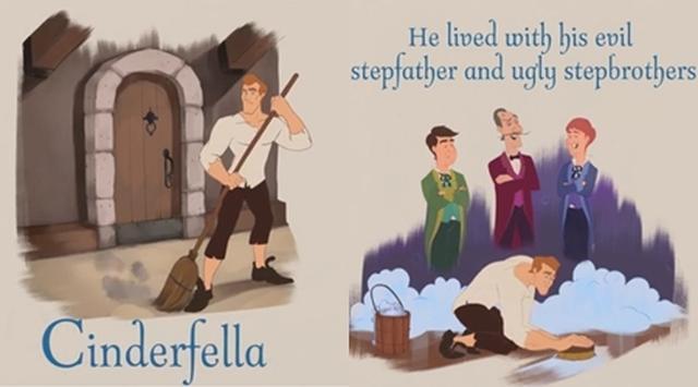 画像2: 男性版『シンデレラ』が誕生
