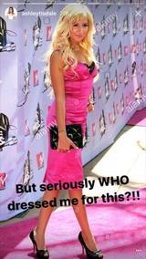 画像2: 2007年のドレスに本人が辛口コメント