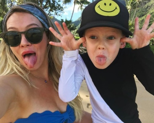 画像: Instagram/Hilary Duff