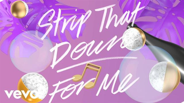 画像: Liam Payne - Strip That Down ft. Quavo (Lyric Video) ft. Quavo www.youtube.com