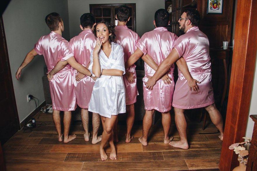 画像1: 「ブライズメイド=女性」という伝統を覆す妙案