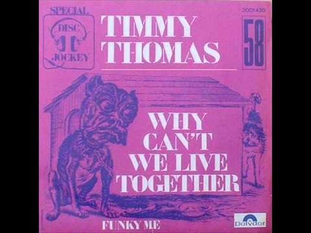 画像: Timmy Thomas - Why can't we live together www.youtube.com