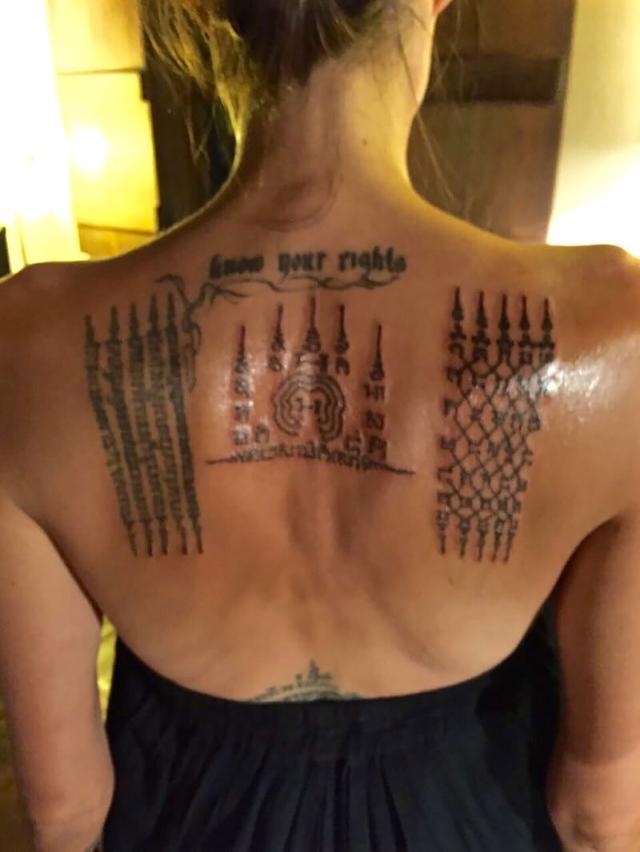 画像1: 通常より痛いタトゥーがお気に入り