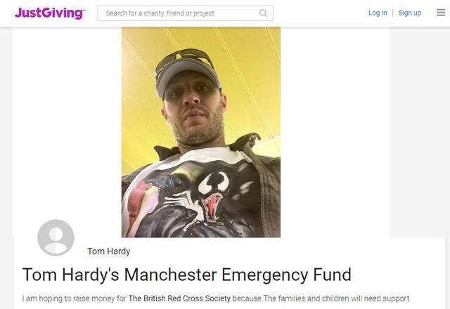 画像: テロ翌日に募金ページを開設
