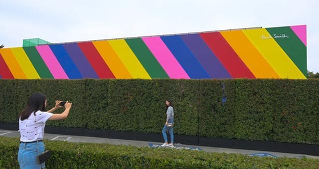 画像3: 虹色にイメチェン