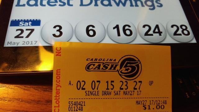 画像: 米宝くじで出たラッキーすぎるアンラッキー番号