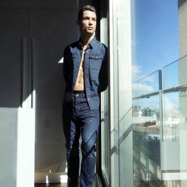 画像4: クリスティアーノ・ロナウドが「動けるデニム」ラインを発表