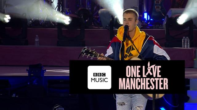画像: Justin Bieber - Cold Water (One Love Manchester) www.youtube.com