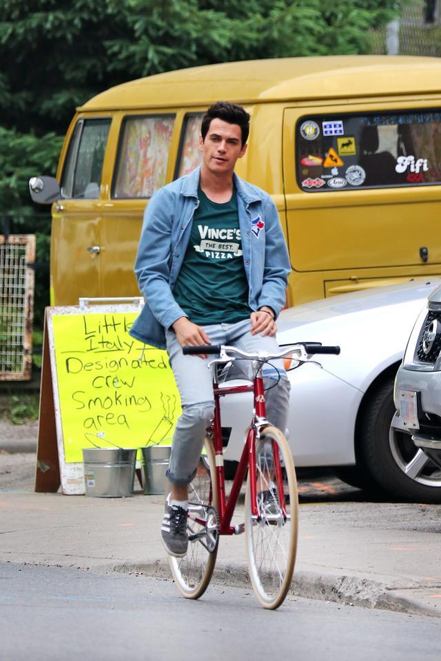 画像1: 自転車は手放し派