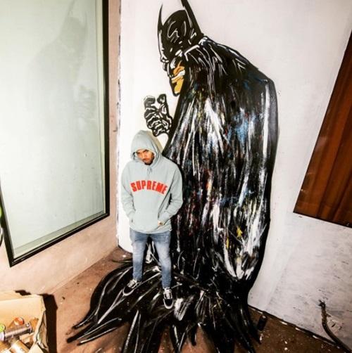 画像3: クリス・ブラウン作『ドラゴンボール』フリーザの巨大壁画がスゴすぎ