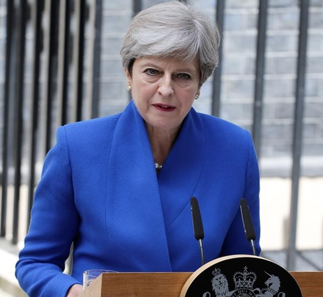 画像: テリーザ・メイ英首相。
