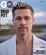 画像: ブラッドが登場した米GQ Style誌の表紙。© Ryan McGinley /GQ Style