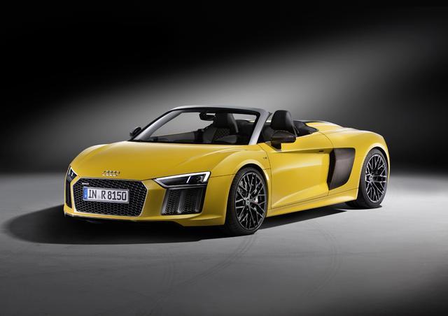 """画像: アウディより、オープントップモデルの新型""""Audi R8 スパイダー""""の販売が開始"""