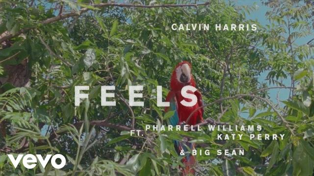 画像: Calvin Harris - Feels (Audio Preview) ft. Pharrell Williams, Katy Perry, Big Sean www.youtube.com