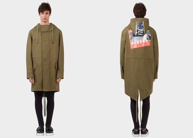 画像: キャンペーン・ヴィジュアルでゼインが着用しているキャンバス地のジャケット $1,350(約150,400円)
