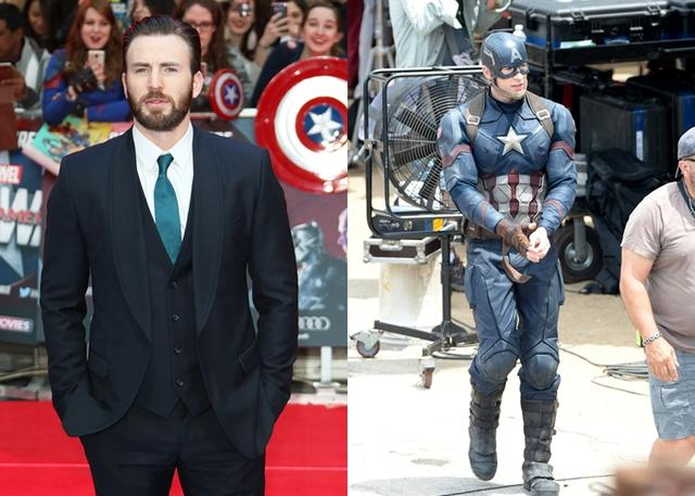 画像: 『キャプテン・アメリカ』のクリス・エヴァンス。