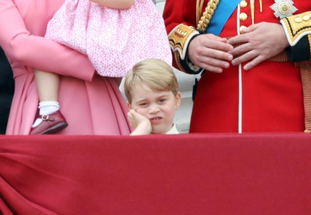 画像4: ジョージ王子の貴重ショットも