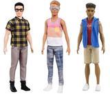 画像: 左から、インテリ風ケン、パーティーボーイ風ケン、スポーツマン風ケン。