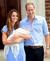 画像: 2013年【31歳】 第一王子となるジョージ王子が誕生